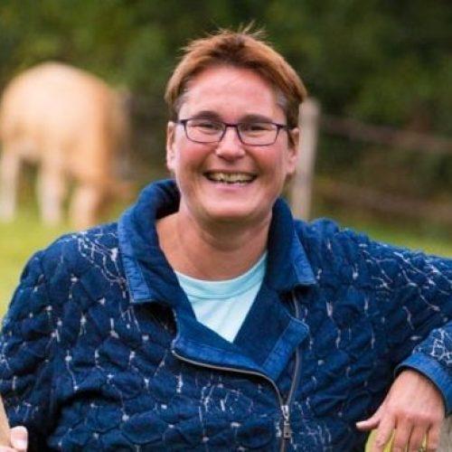 Projectleider Cathy van Dijk